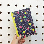 Floral Pattern A5 Lined Notebook