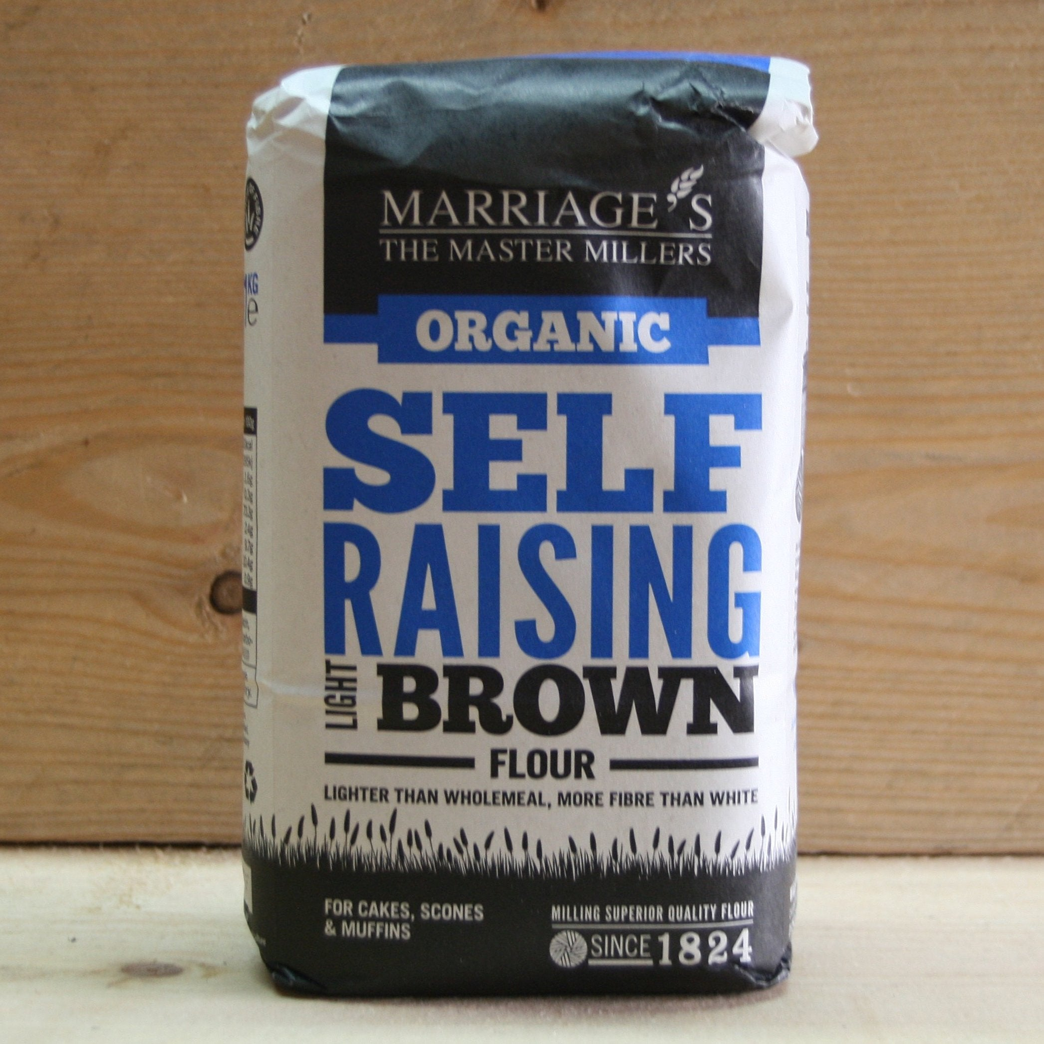 Marriages Light Brown Self Raising Flour 1kg