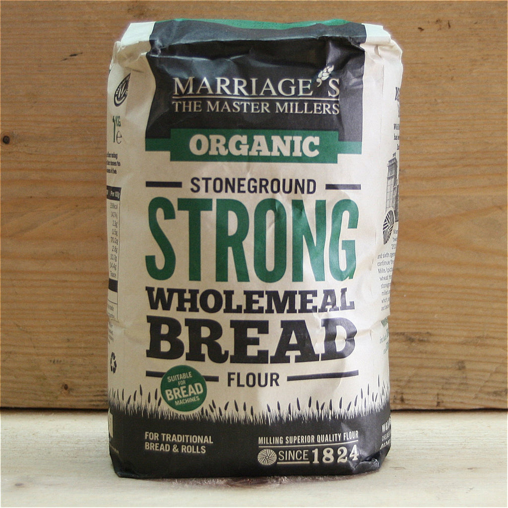 Marriages Strong Wholemeal Bread Flour 1kg