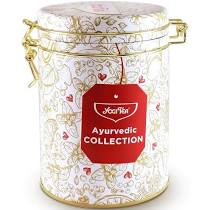 Yogi Tea Ayurvedic Collection - 5 teas in a metal caddy