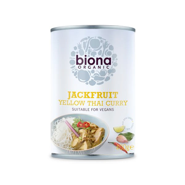 Biona Jackfruit Yellow Thai Curry 400g