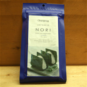 Nori - 10 Sheets Clearspring