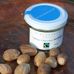 Organic Fairtrade Whole Nutmeg 40g