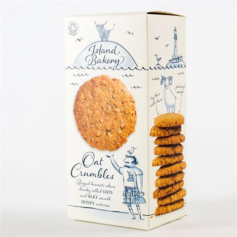 Island Bakery Oat Crumble Biscuits 150g