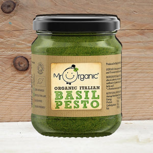 Mr Organic Vegan Green Basil Pesto 130g
