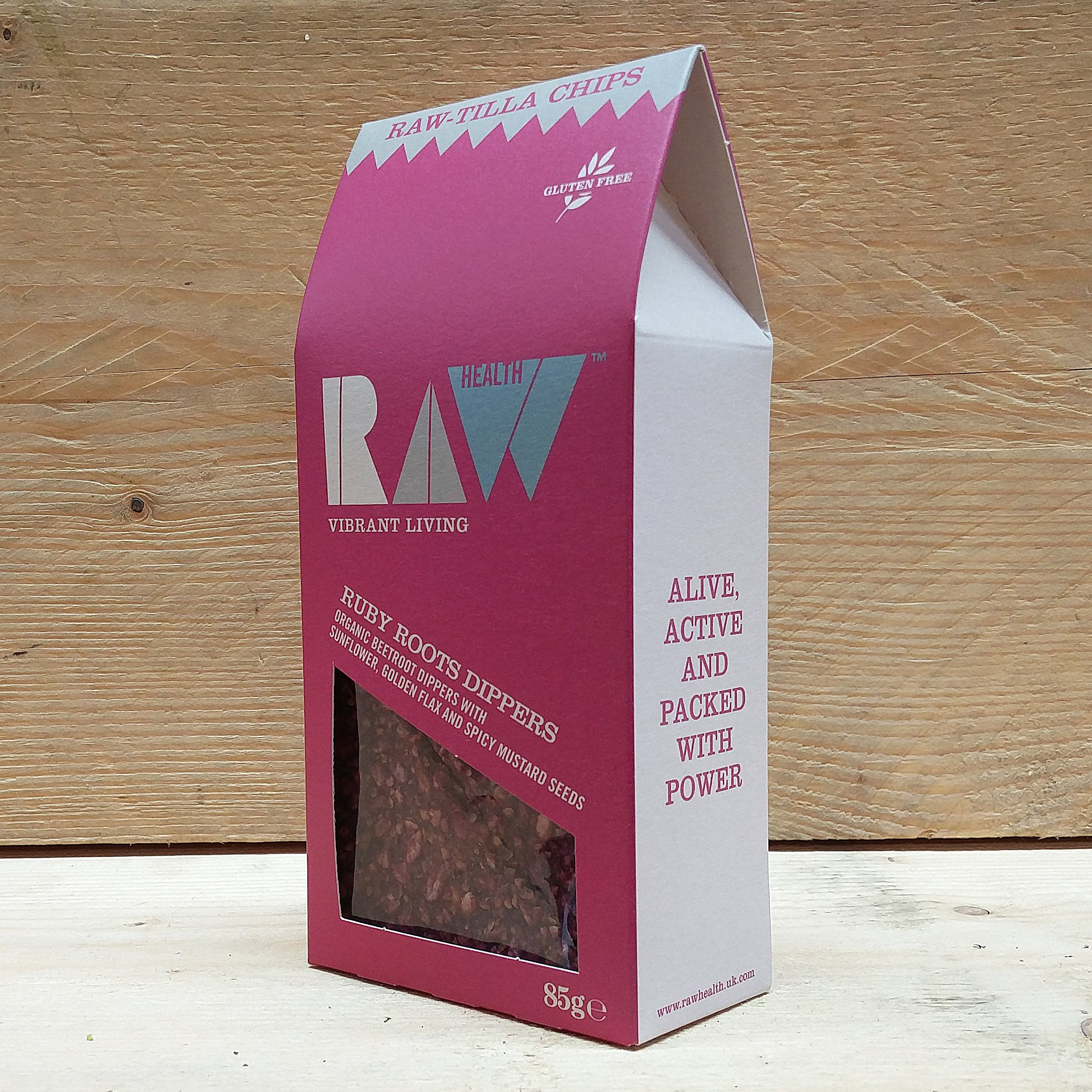 Ruby Roots Beetroot Chip Dippers 85g SALE