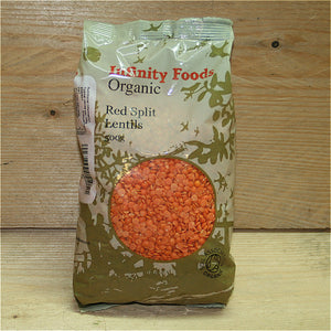 Infinity Red Lentils 500g