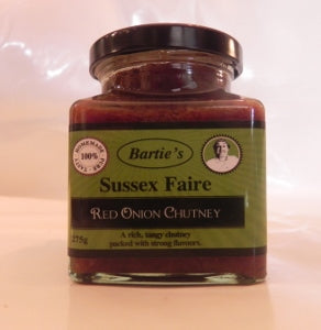Red Onion Chutney 350g Sussex