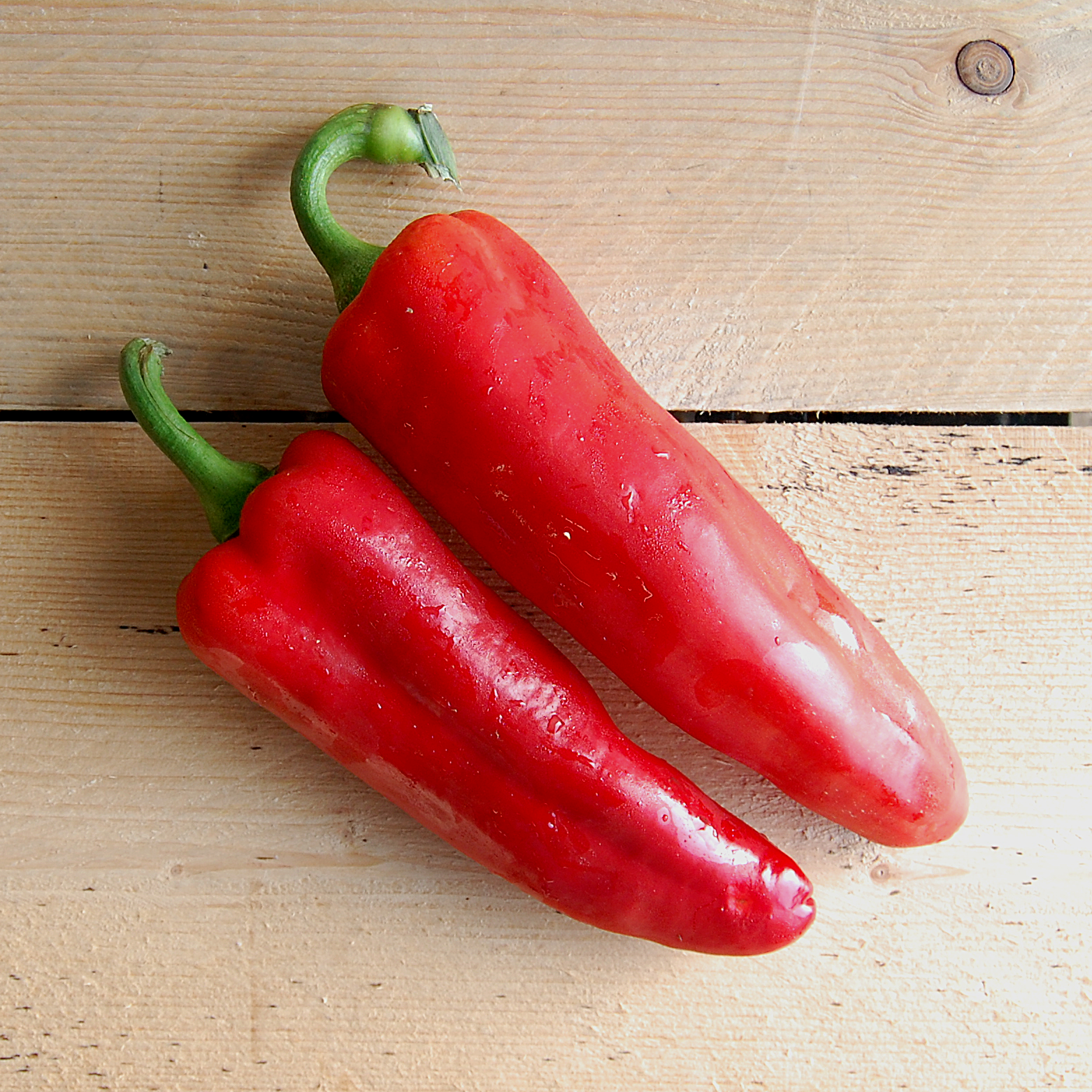 Peppers Red Romano (Pack of 2)