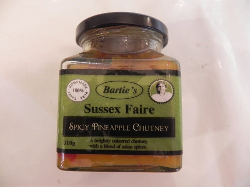 Spicy Pineapple Chutney 310g Sussex