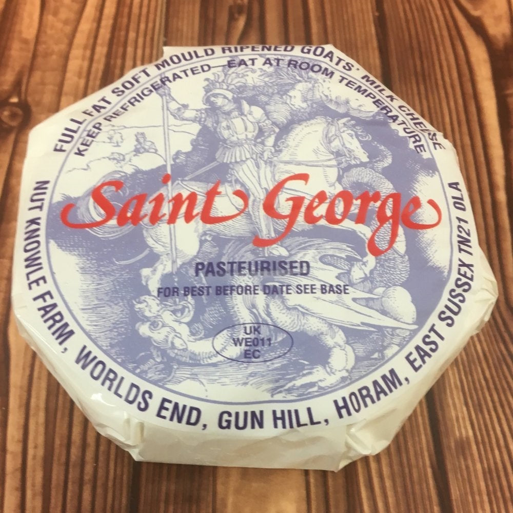 St Georges Camembert Goats Cheese Sussex