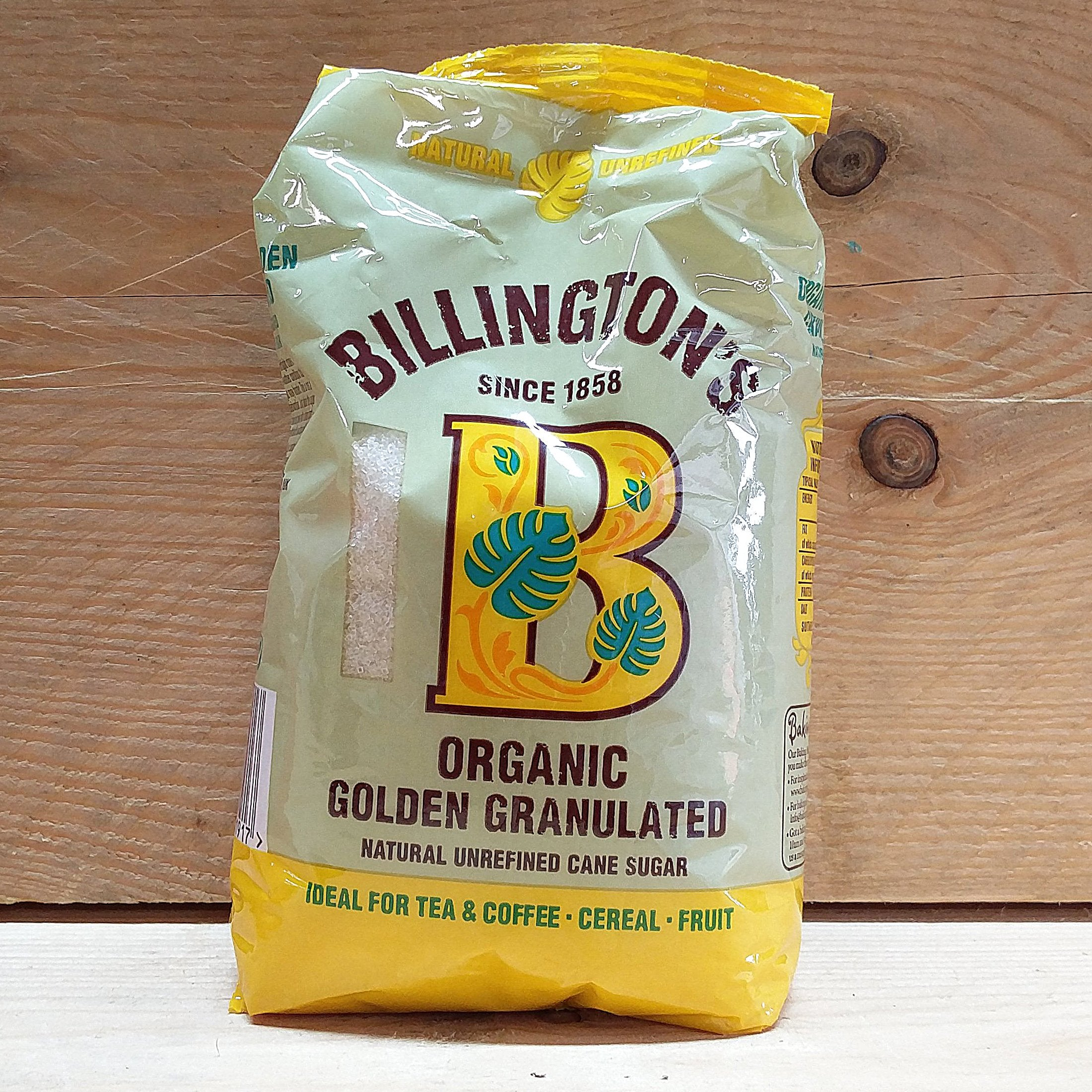 Billingtons Granulated Golden Sugar 500g
