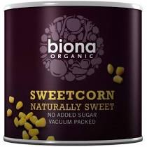 Biona Sweetcorn 400g