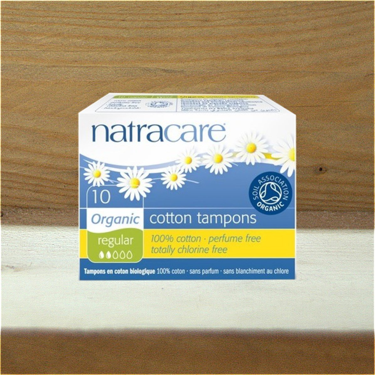 Natracare 20 Cotton Non-Applicator Tampons Super