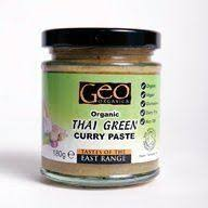 Geo Organics Green Thai Curry Paste 180g