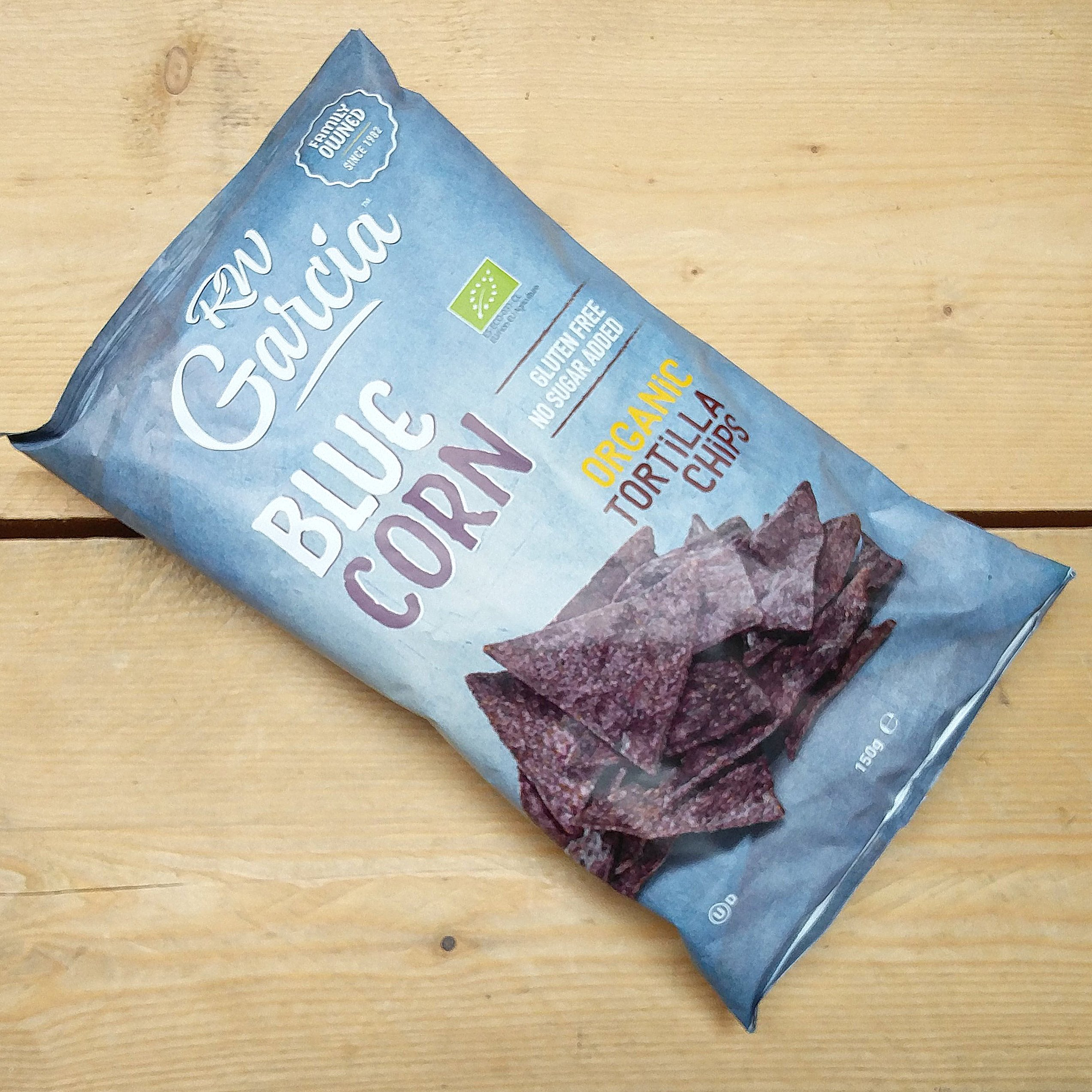 RW Garcia Blue Corn Tortilla Chips