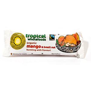 Tropical Wholefoods Mango & Brazil Bar