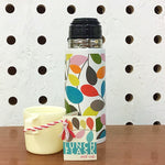 Vintage Patterned Thermos Flask