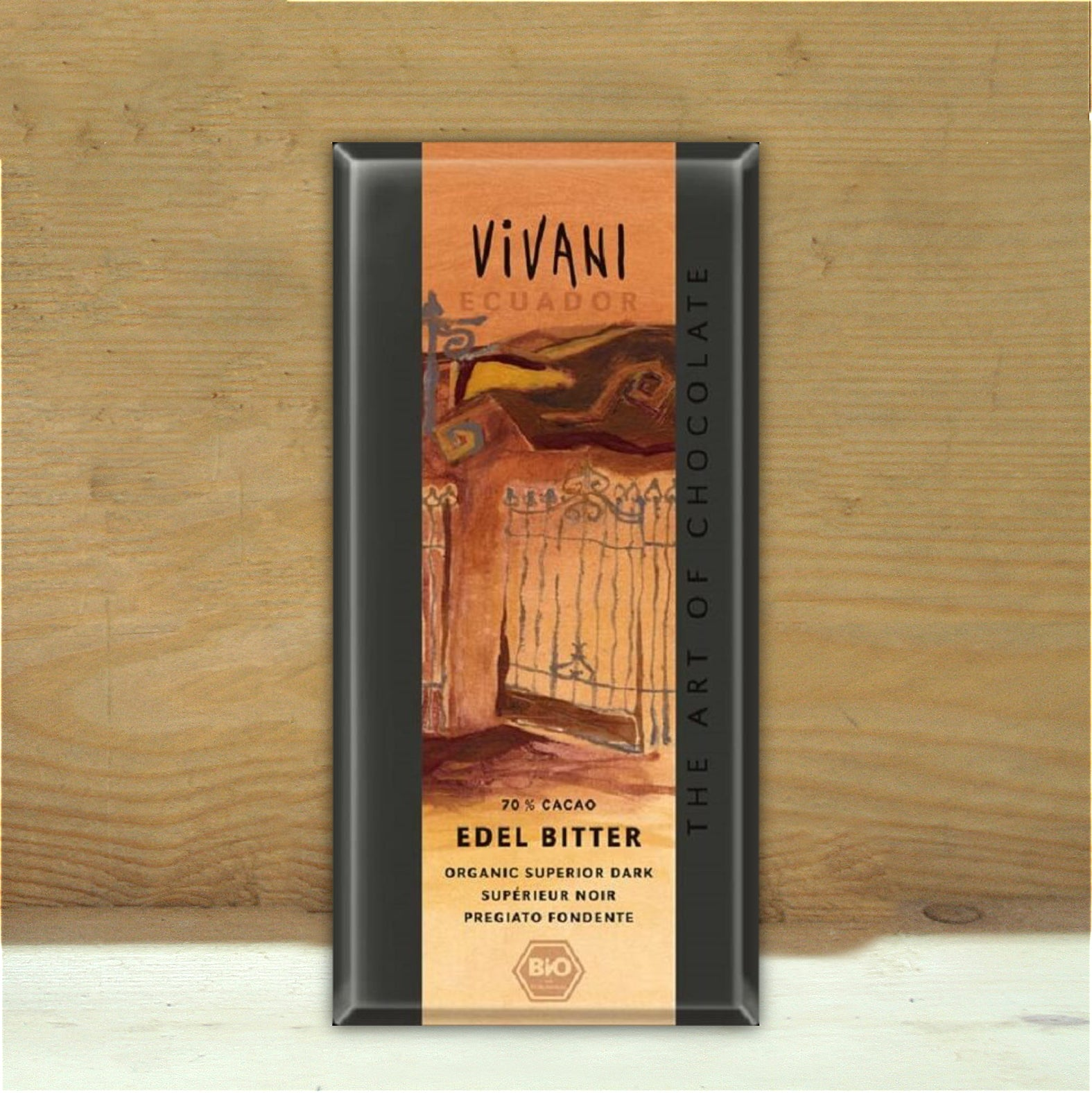 Vivani Superior Ecuador 75% Dark Chocolate Bar 100g