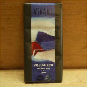 Vivani Milk Chocolate Bar 100g
