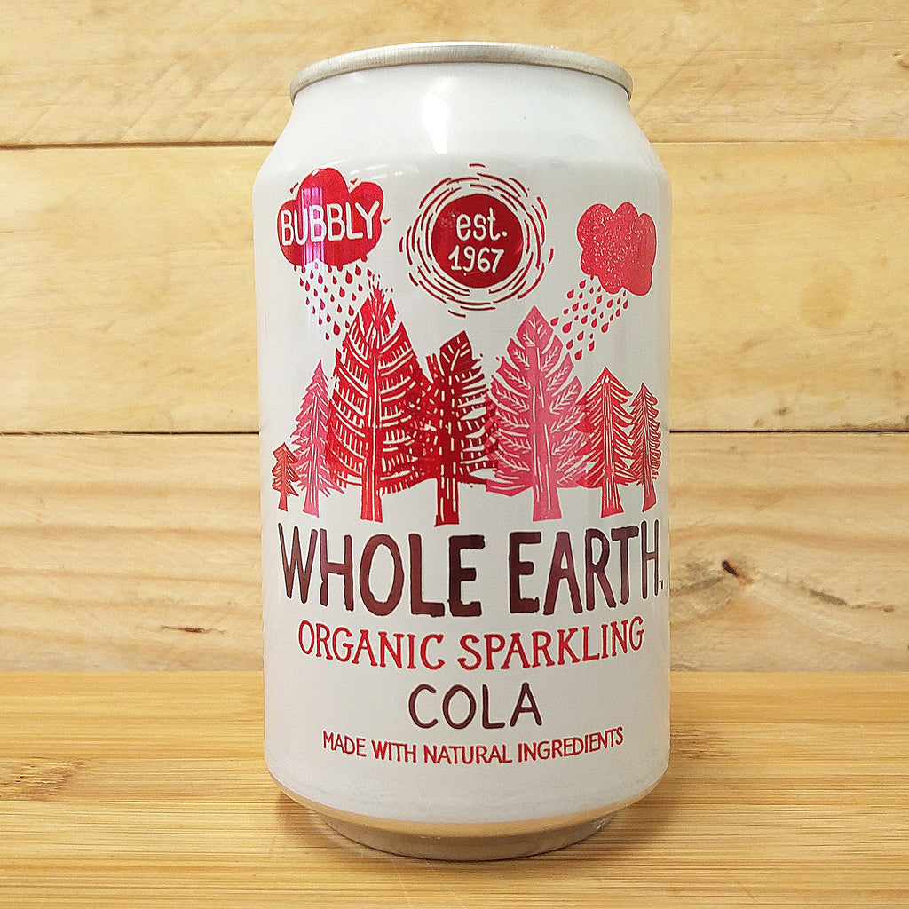 Whole Earth Fizzy Can Cola 330ml