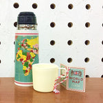 World Map Thermos Flask