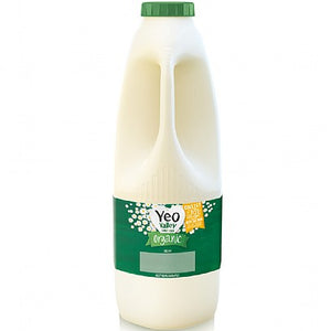 Yeo Valley Semi-Skimmed Milk - 2 litres