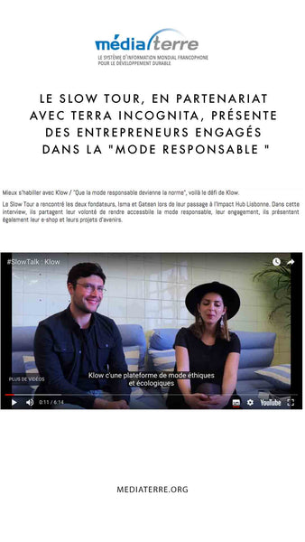 Media Terre - Klow Mode Entrepreneurs Mode Éhtique