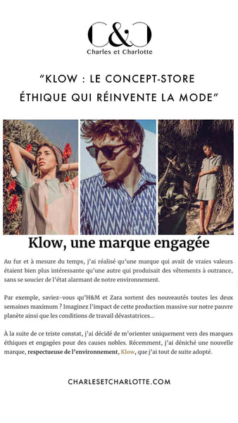 Charles and Charlotte - Presse Klow - Ethical and ecological fashion concept store