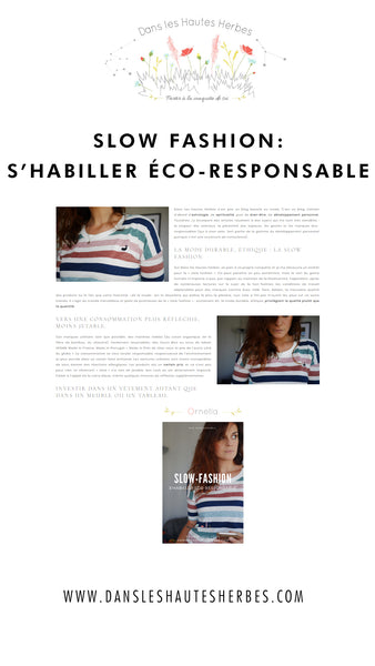 SLOW FASHION SHABILLER ECO RESPONSABLE