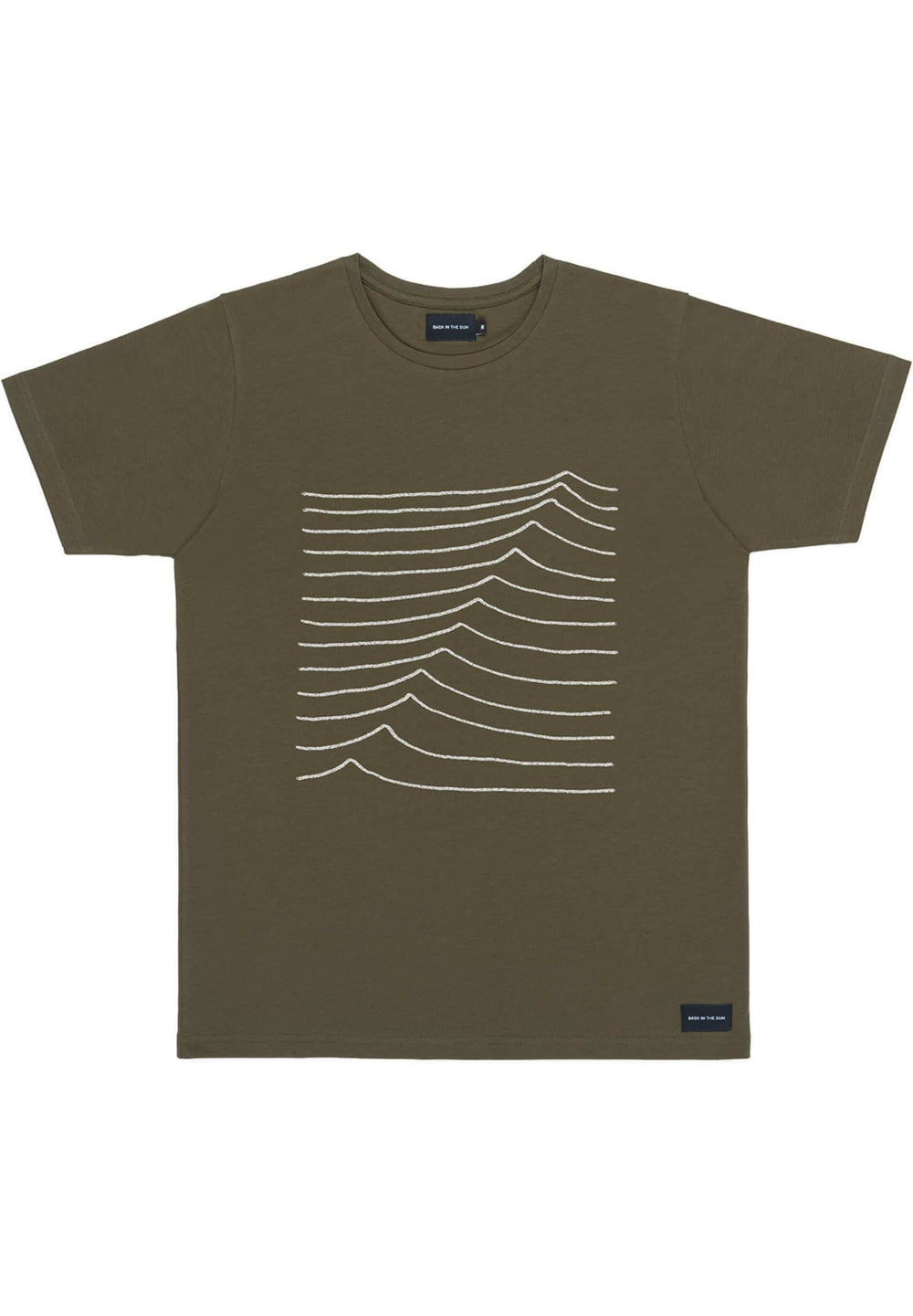 BASK IN THE SUN T-shirts T-shirt Swell avocado