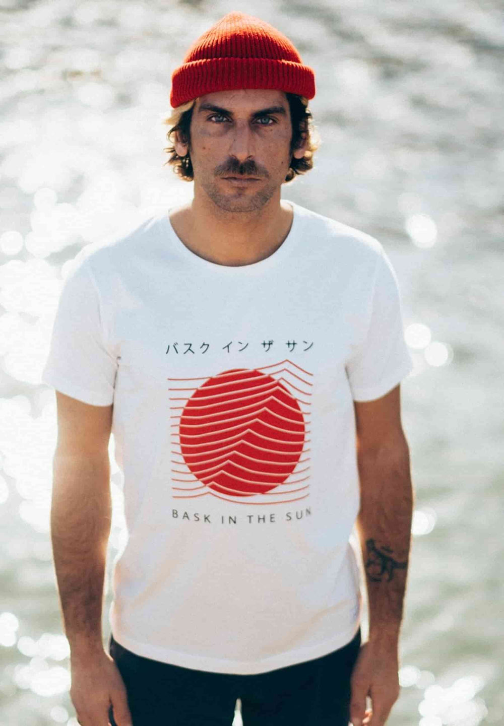 BASK IN THE SUN T-shirts T-shirt Tokyo natural