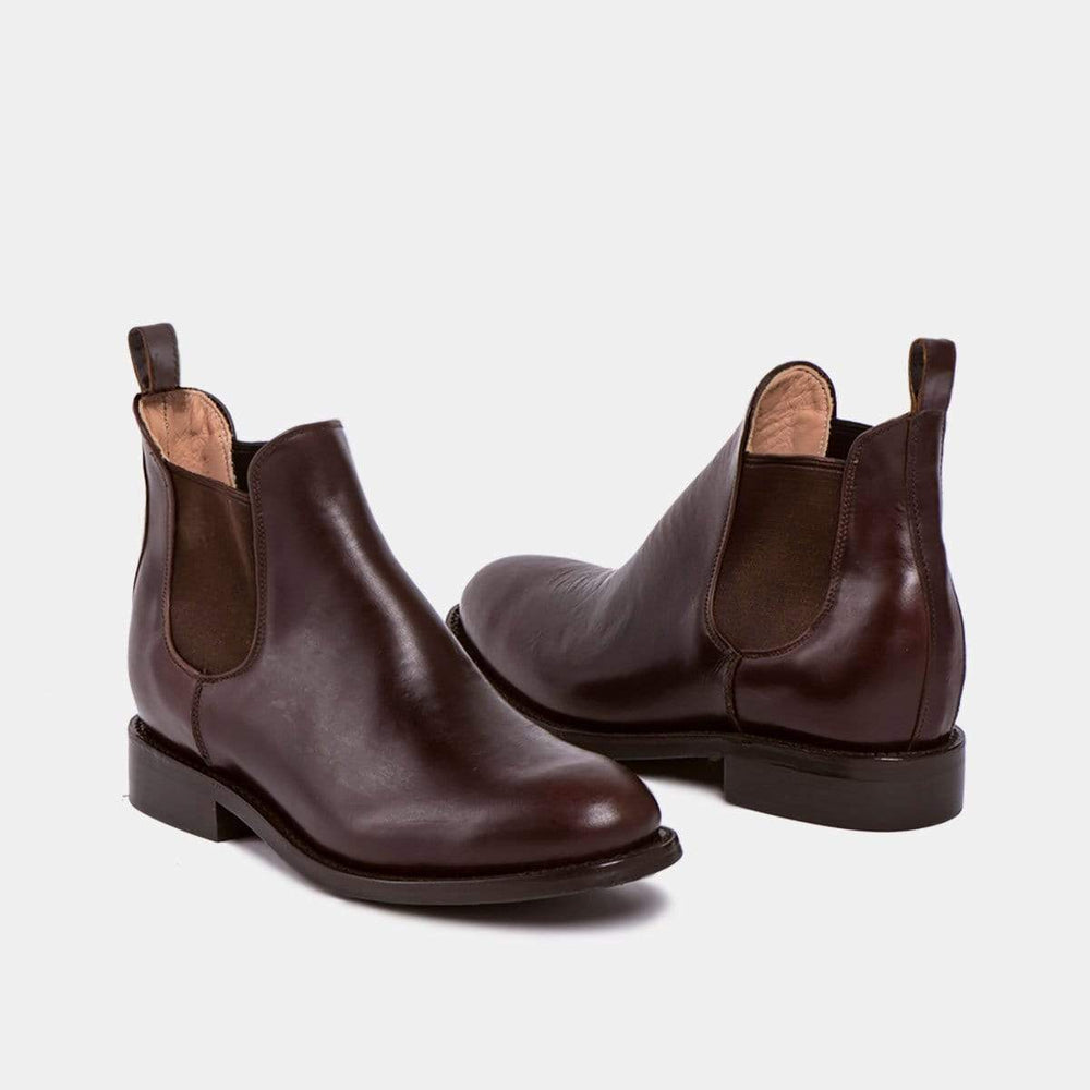 CANO Casual shoes DENISE Chelsea Boot Chocolate Tire