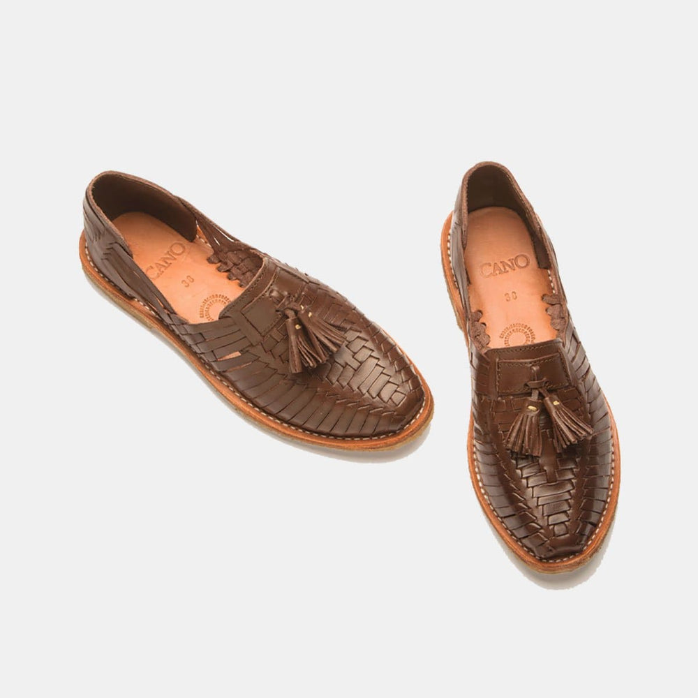 CANO Casual shoes FRIDA Natural Coffee