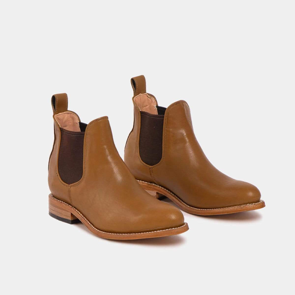 CANO Casual shoes MARIA Chelsea Boot Cognac