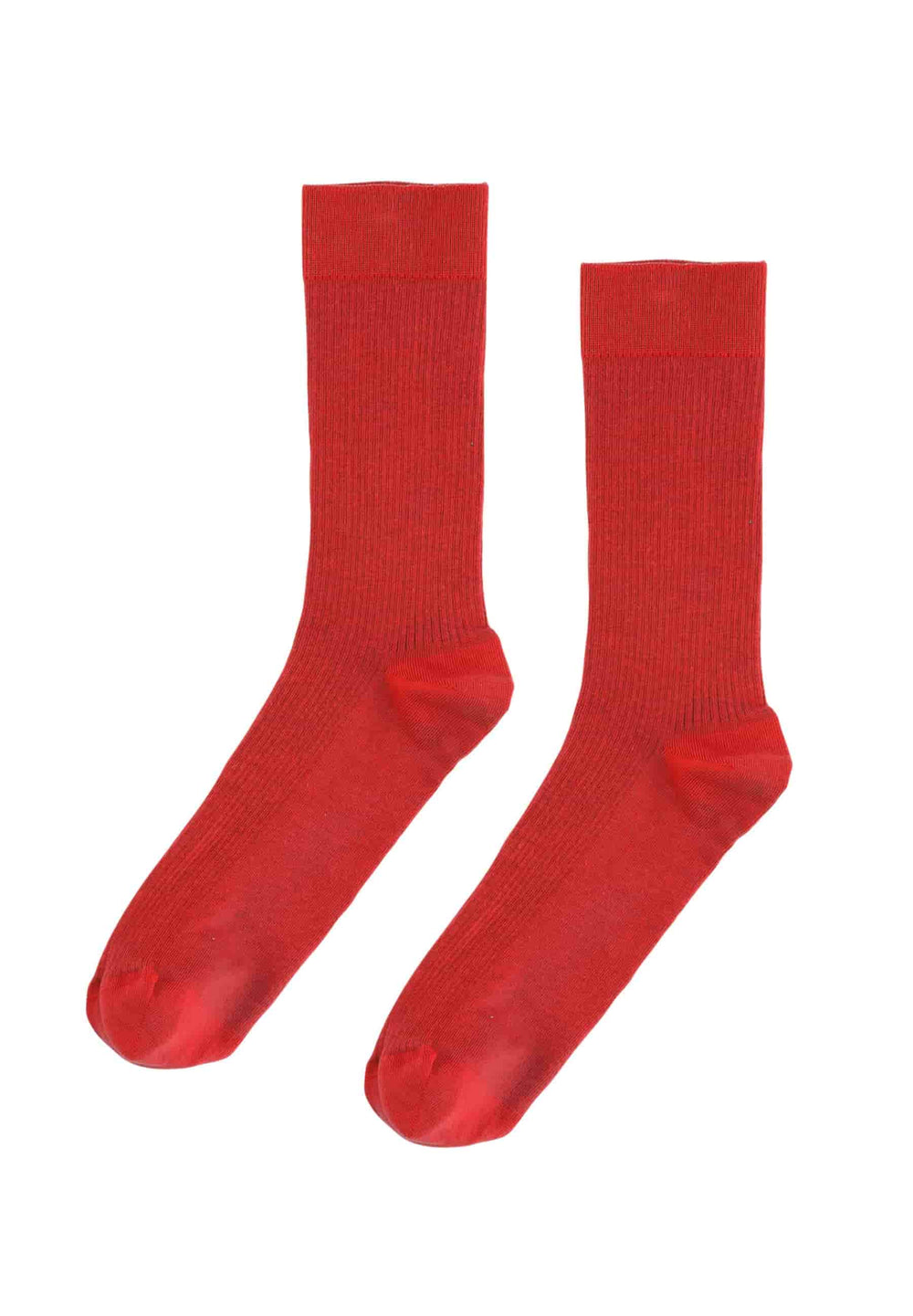Colorful Standard Underwear Taille Unique Chaussettes Classic Organic Scarlet Red