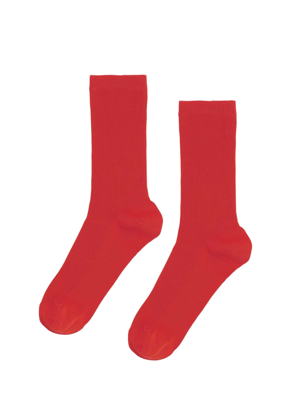 Colorful Standard Underwear Taille Unique Chaussettes Femme Classic Organic Scarlet Red