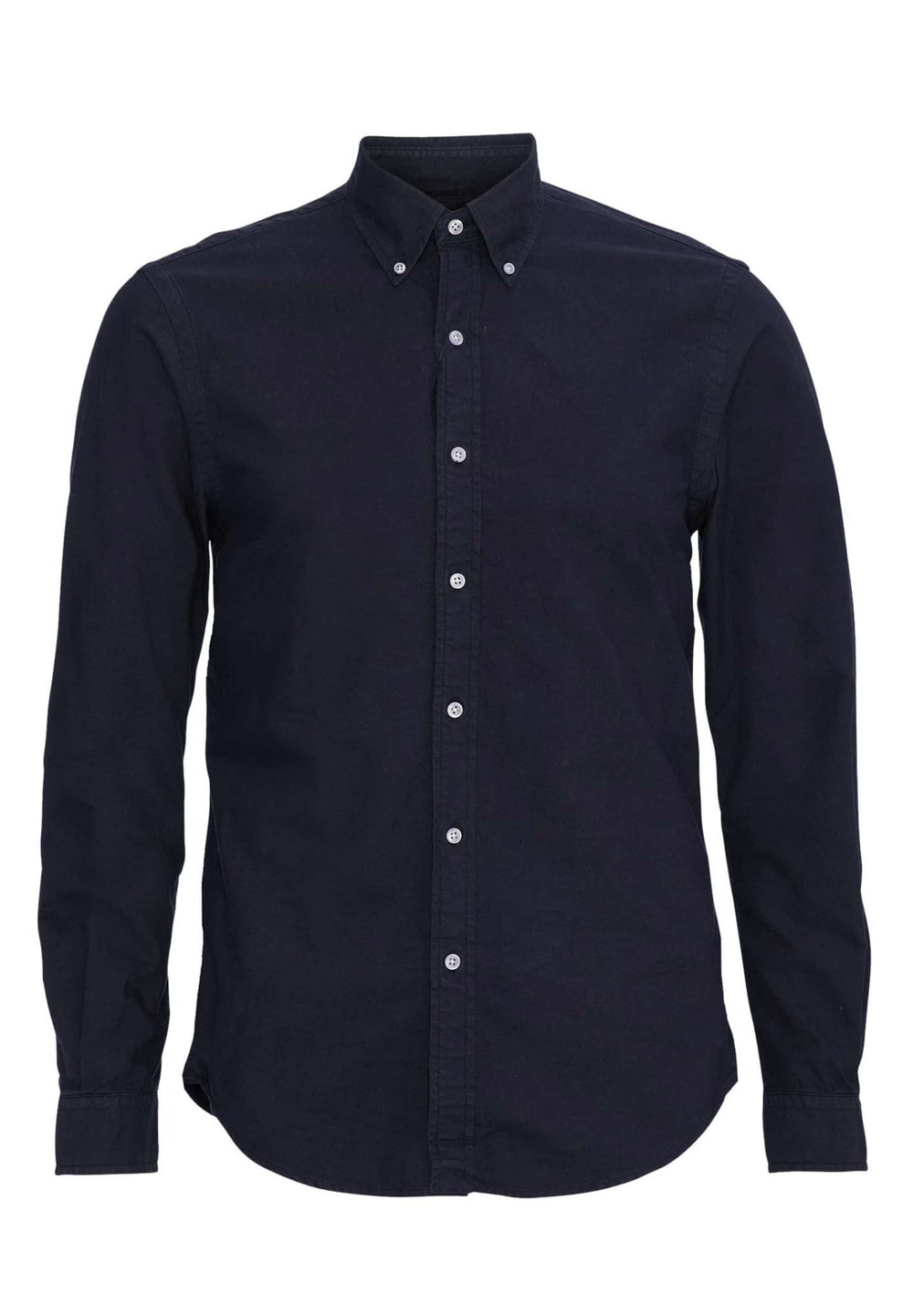 Colorful Standard Shirts Chemise à bouton Down Navy Blue