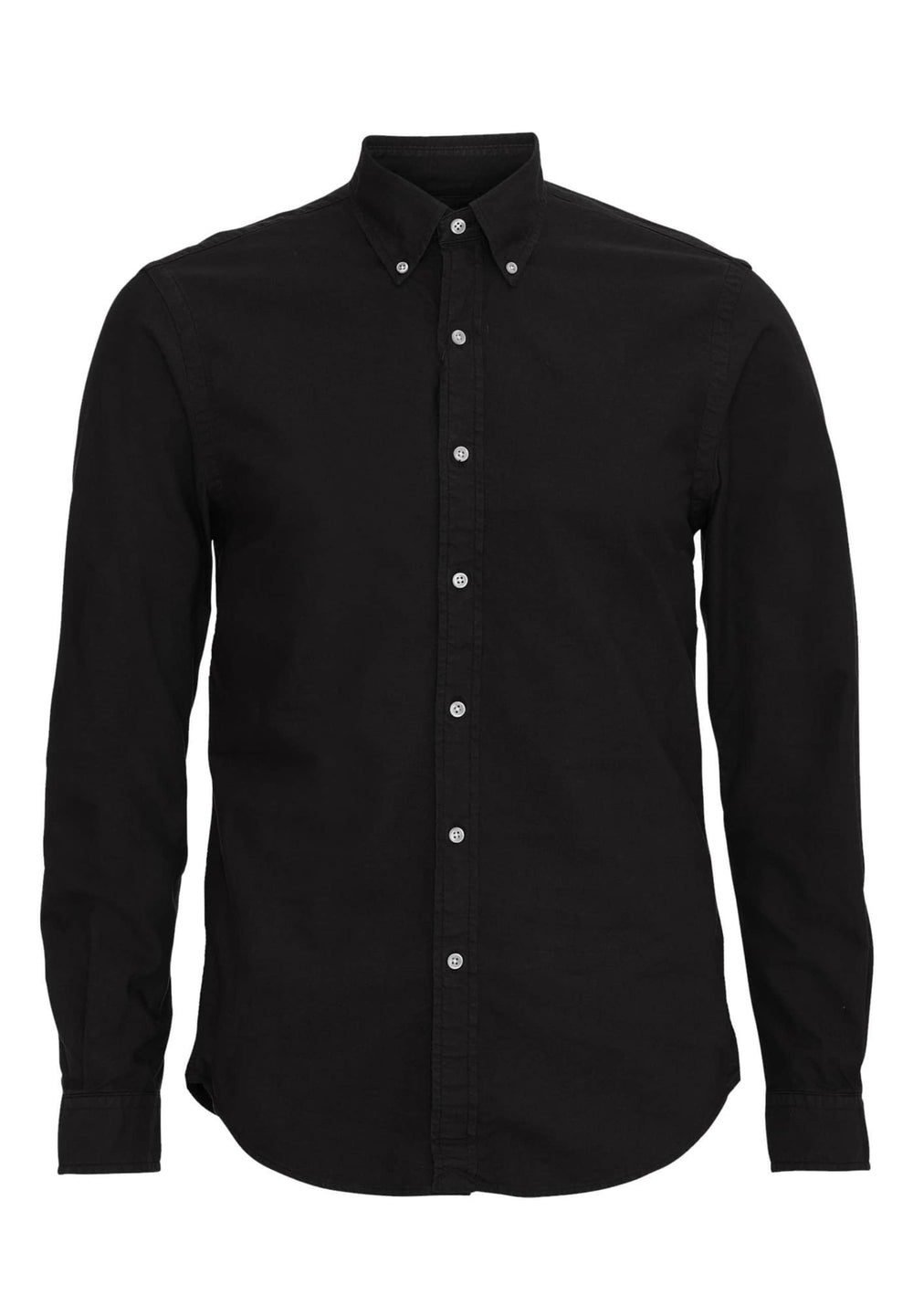 Colorful Standard Shirts Chemise à bouton DownDeep Black