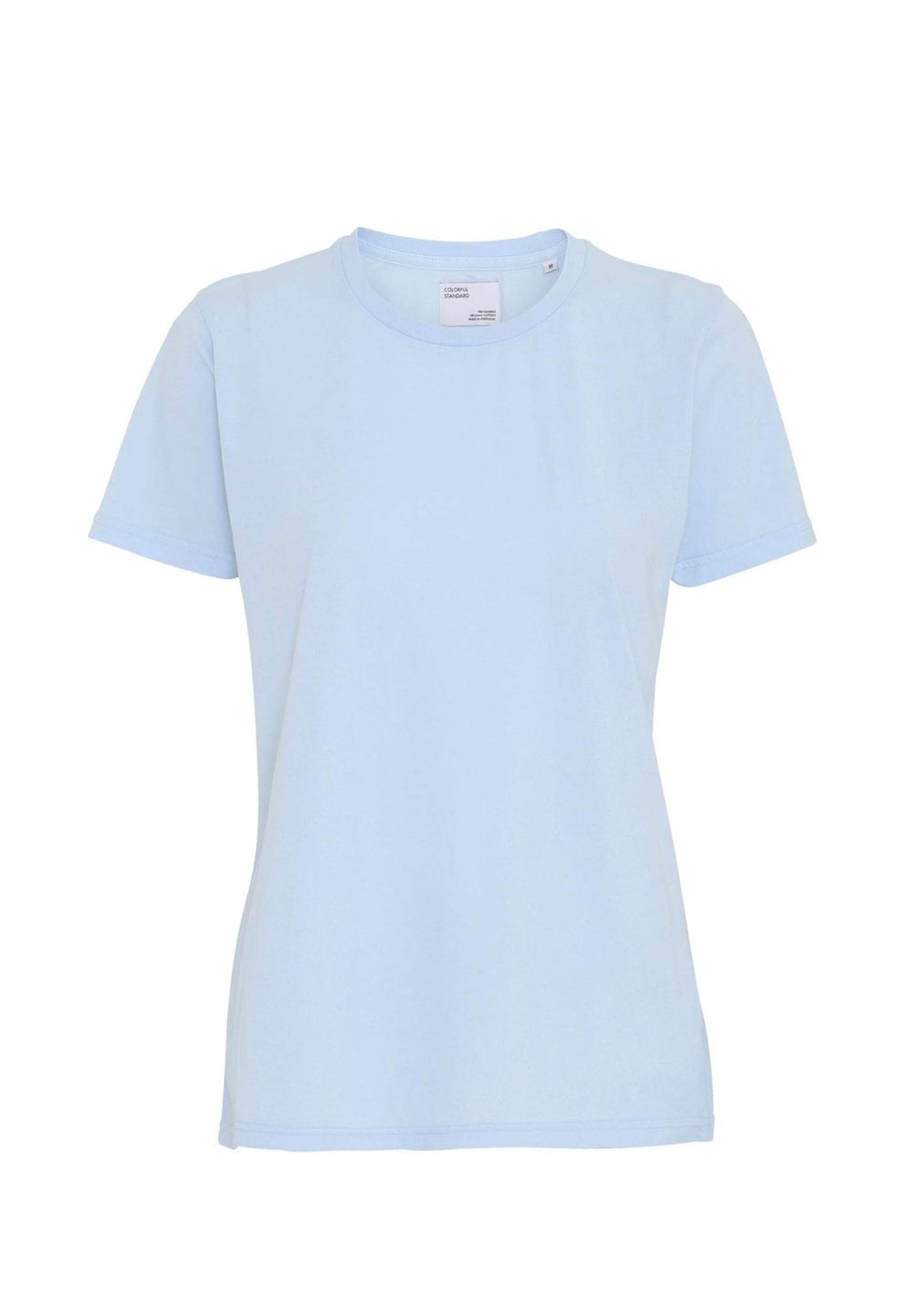 Colorful Standard T-shirts T-shirt Femme Light Organic Polar Blue