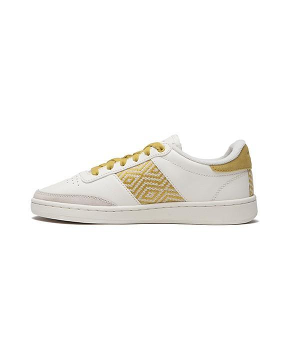 N'GO SHOES Sneakers Baskets Ha Gigang Crème, jaune