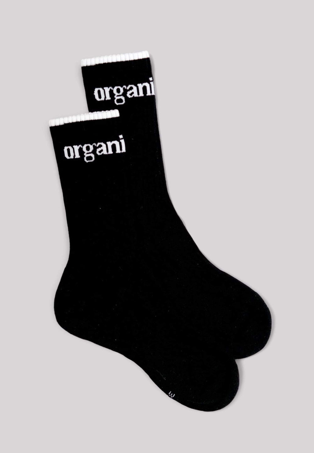 Organic Basics Underwear Active Tennis Socks - Noir