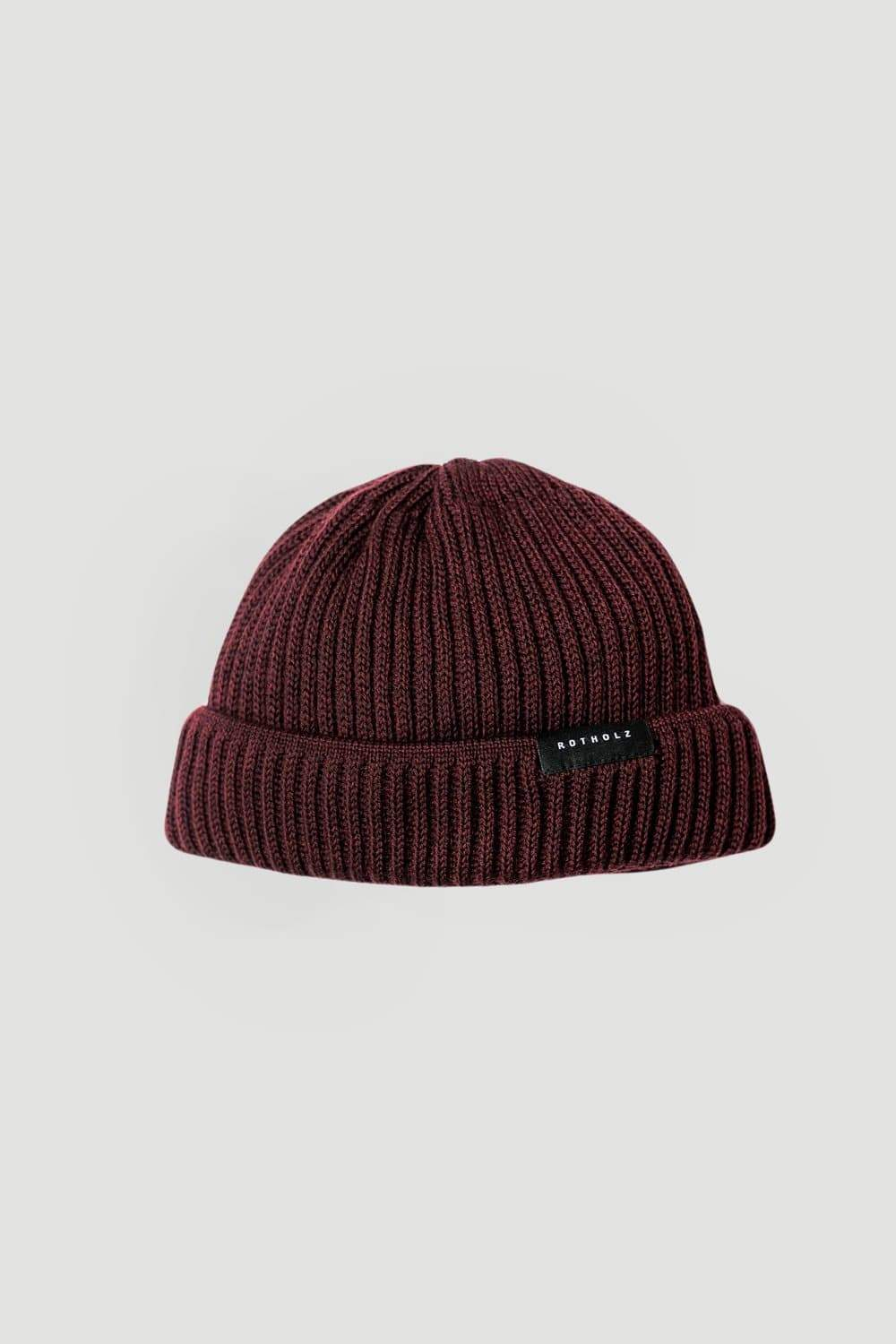 Rotholz Accessories Bonnet Knit-Beaniesh short Rouge