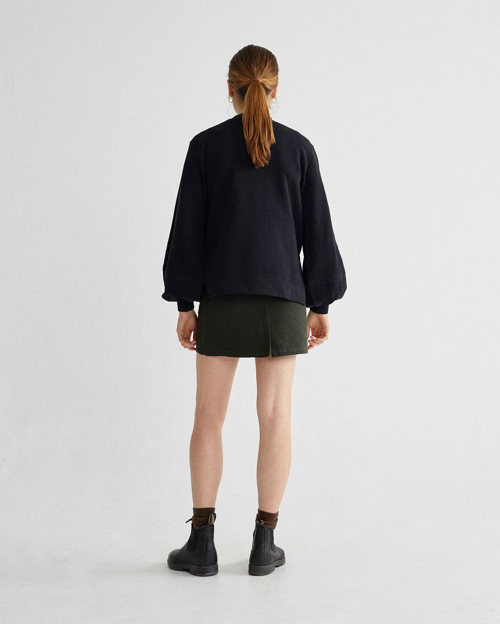Thinking Mu Skirts & Shorts Jupe green Hemp Rhea