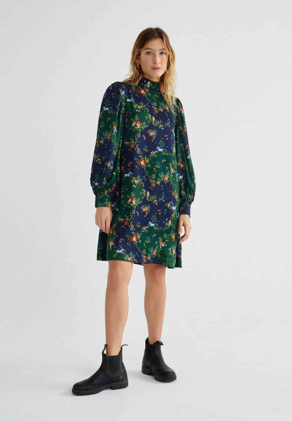 Thinking Mu Dresses Paradise flora dress