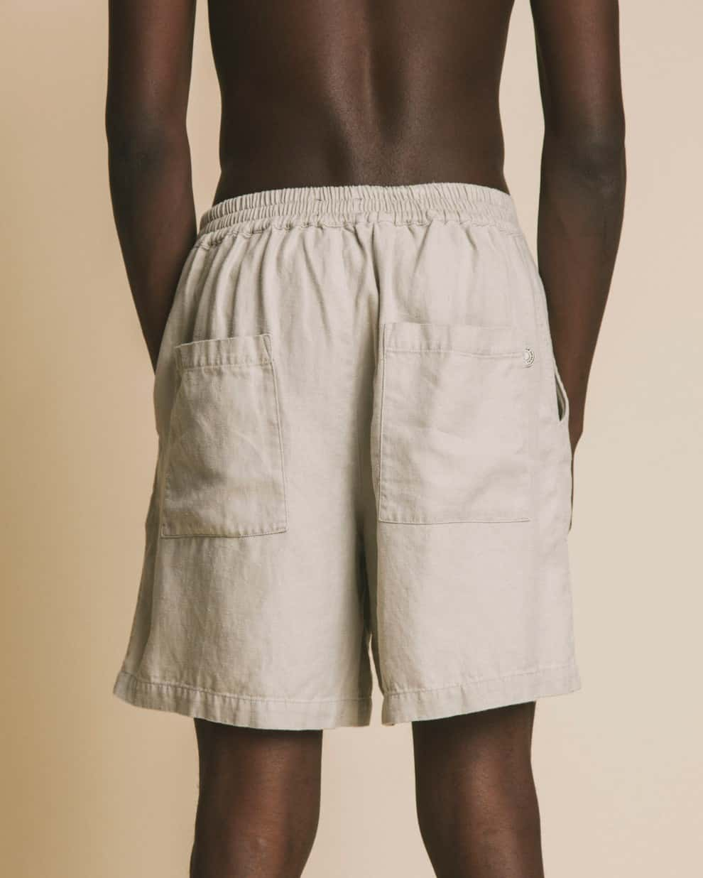 Thinking Mu Shorts Short Stone hemp Fianga