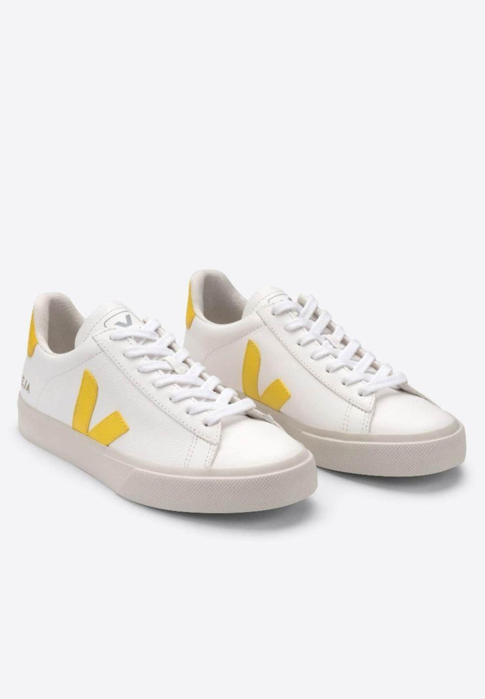 Veja Sneakers CAMPO CHROMEFREE LEATHER EXTRA-WHITE_TONIC