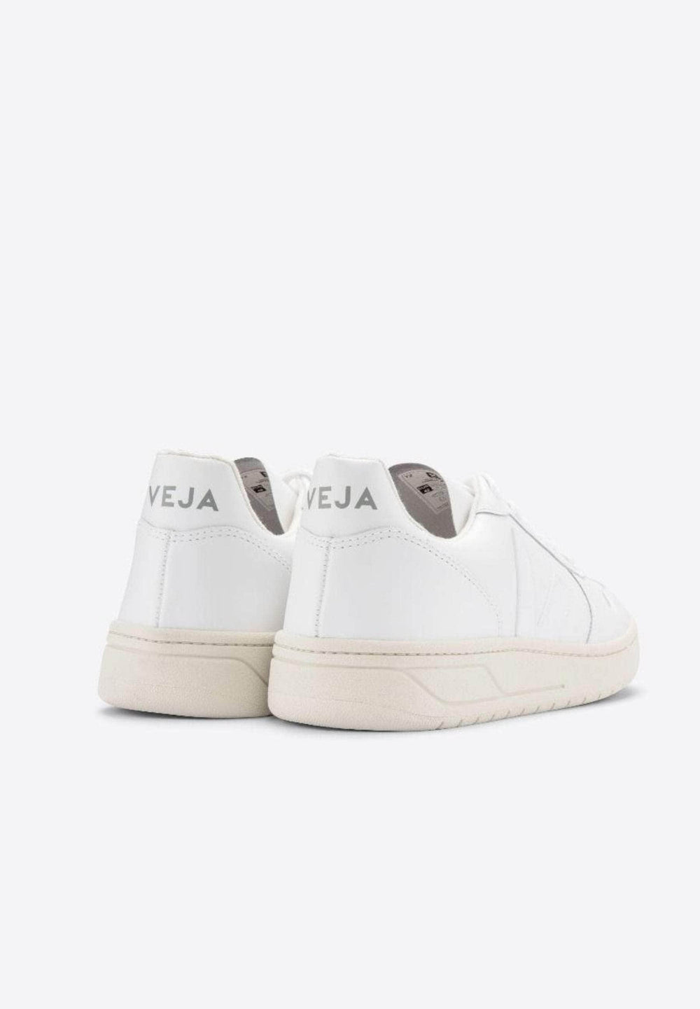 Veja Sneakers WOMEN V-10 LEATHER EXTRA-WHITE