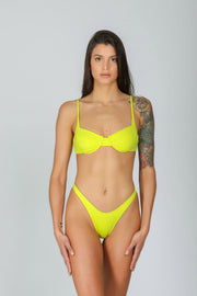 Zaira Top: top a balconcino, bikini top a balconcino#color_lemonade