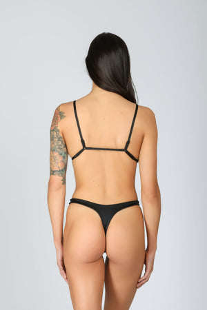 Rebel Triangle 3.0 Deep Black: bikini a triangolo nero 1
